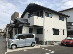 「10年点検と2年点検に行きました。」広島 注文住宅  自然素材